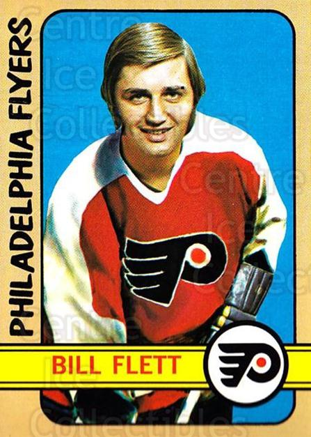1972-73 Topps #139 Bill Flett<br/>5 In Stock - $3.00 each - <a href=https://centericecollectibles.foxycart.com/cart?name=1972-73%20Topps%20%23139%20Bill%20Flett...&quantity_max=5&price=$3.00&code=380659 class=foxycart> Buy it now! </a>