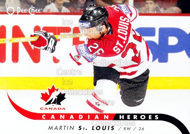 2009-10 O-Pee-Chee Canadian Heroes #CBMS Martin St. Louis<br/>3 In Stock - $2.00 each - <a href=https://centericecollectibles.foxycart.com/cart?name=2009-10%20O-Pee-Chee%20Canadian%20Heroes%20%23CBMS%20Martin%20St.%20Loui...&quantity_max=3&price=$2.00&code=380819 class=foxycart> Buy it now! </a>