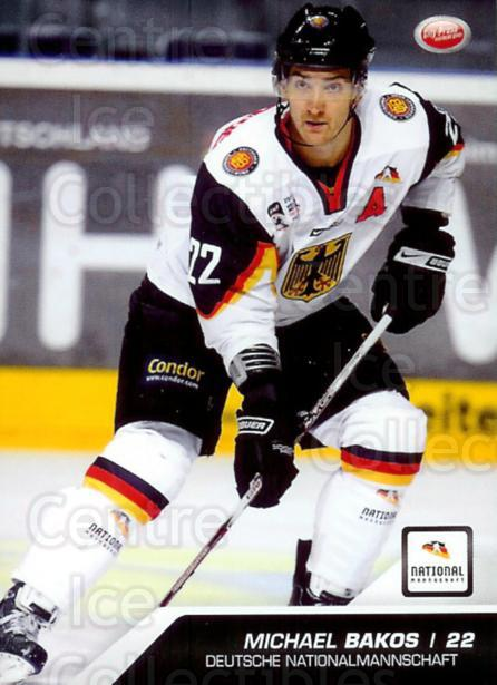 2009-10 German DEL #52 Michael Bakos<br/>2 In Stock - $2.00 each - <a href=https://centericecollectibles.foxycart.com/cart?name=2009-10%20German%20DEL%20%2352%20Michael%20Bakos...&price=$2.00&code=381363 class=foxycart> Buy it now! </a>