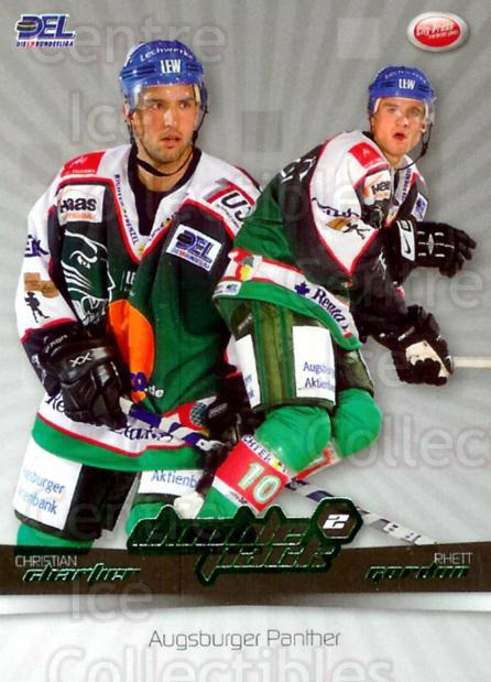 2007-08 German DEL Doublepack #1 Christian Chartier, Rhett Gordon<br/>1 In Stock - $3.00 each - <a href=https://centericecollectibles.foxycart.com/cart?name=2007-08%20German%20DEL%20Doublepack%20%231%20Christian%20Chart...&quantity_max=1&price=$3.00&code=381553 class=foxycart> Buy it now! </a>