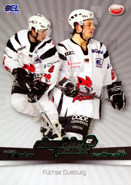 2007-08 German DEL Doublepack #3 Andrej Teljukin, Jade Galbraith<br/>5 In Stock - $3.00 each - <a href=https://centericecollectibles.foxycart.com/cart?name=2007-08%20German%20DEL%20Doublepack%20%233%20Andrej%20Teljukin...&quantity_max=5&price=$3.00&code=381555 class=foxycart> Buy it now! </a>