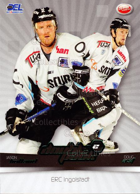 2007-08 German DEL Doublepack #8 Jason Holland, Doug Ast<br/>3 In Stock - $3.00 each - <a href=https://centericecollectibles.foxycart.com/cart?name=2007-08%20German%20DEL%20Doublepack%20%238%20Jason%20Holland,%20...&quantity_max=3&price=$3.00&code=381560 class=foxycart> Buy it now! </a>