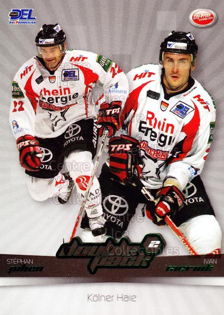 2007-08 German DEL Doublepack #10 Stephane Julien, Ivan Ciernik<br/>2 In Stock - $3.00 each - <a href=https://centericecollectibles.foxycart.com/cart?name=2007-08%20German%20DEL%20Doublepack%20%2310%20Stephane%20Julien...&quantity_max=2&price=$3.00&code=381562 class=foxycart> Buy it now! </a>