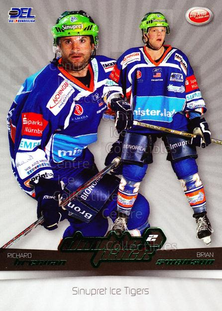 2007-08 German DEL Doublepack #13 Brian Swanson, Rich Brennan<br/>2 In Stock - $3.00 each - <a href=https://centericecollectibles.foxycart.com/cart?name=2007-08%20German%20DEL%20Doublepack%20%2313%20Brian%20Swanson,%20...&quantity_max=2&price=$3.00&code=381565 class=foxycart> Buy it now! </a>