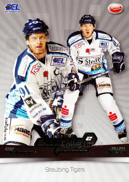 2007-08 German DEL Doublepack #14 Josef Lehner, William Trew<br/>6 In Stock - $3.00 each - <a href=https://centericecollectibles.foxycart.com/cart?name=2007-08%20German%20DEL%20Doublepack%20%2314%20Josef%20Lehner,%20W...&quantity_max=6&price=$3.00&code=381566 class=foxycart> Buy it now! </a>