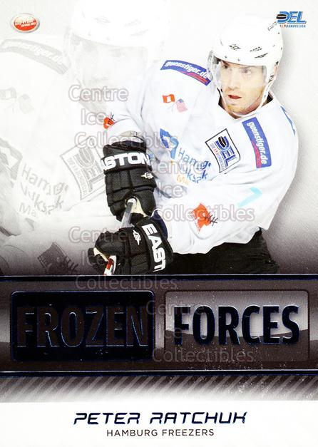 2009-10 German DEL Premium Frozen Forces #5 Peter Ratchuk<br/>5 In Stock - $3.00 each - <a href=https://centericecollectibles.foxycart.com/cart?name=2009-10%20German%20DEL%20Premium%20Frozen%20Forces%20%235%20Peter%20Ratchuk...&quantity_max=5&price=$3.00&code=381597 class=foxycart> Buy it now! </a>