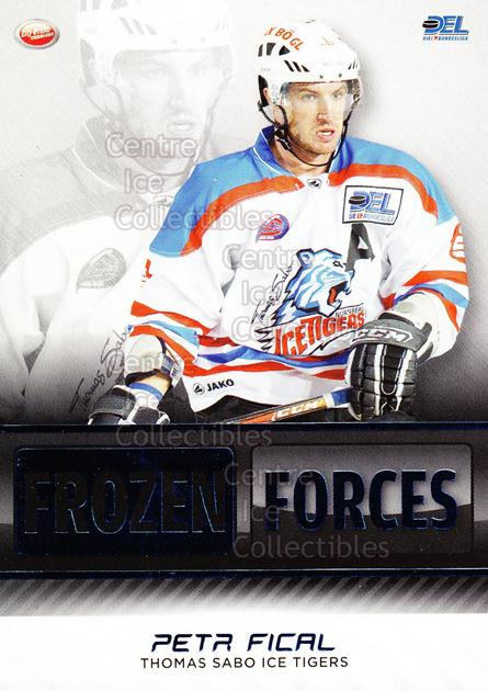 2009-10 German DEL Premium Frozen Forces #13 Petr Fical<br/>5 In Stock - $3.00 each - <a href=https://centericecollectibles.foxycart.com/cart?name=2009-10%20German%20DEL%20Premium%20Frozen%20Forces%20%2313%20Petr%20Fical...&quantity_max=5&price=$3.00&code=381605 class=foxycart> Buy it now! </a>