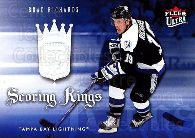 2006-07 Ultra Scoring Kings #3 Brad Richards<br/>1 In Stock - $2.00 each - <a href=https://centericecollectibles.foxycart.com/cart?name=2006-07%20Ultra%20Scoring%20Kings%20%233%20Brad%20Richards...&quantity_max=1&price=$2.00&code=381624 class=foxycart> Buy it now! </a>