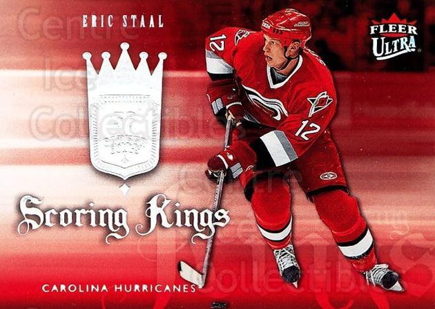 2006-07 Ultra Scoring Kings #7 Eric Staal<br/>1 In Stock - $2.00 each - <a href=https://centericecollectibles.foxycart.com/cart?name=2006-07%20Ultra%20Scoring%20Kings%20%237%20Eric%20Staal...&quantity_max=1&price=$2.00&code=381628 class=foxycart> Buy it now! </a>