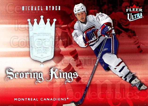 2006-07 Ultra Scoring Kings #20 Michael Ryder<br/>1 In Stock - $2.00 each - <a href=https://centericecollectibles.foxycart.com/cart?name=2006-07%20Ultra%20Scoring%20Kings%20%2320%20Michael%20Ryder...&quantity_max=1&price=$2.00&code=381641 class=foxycart> Buy it now! </a>