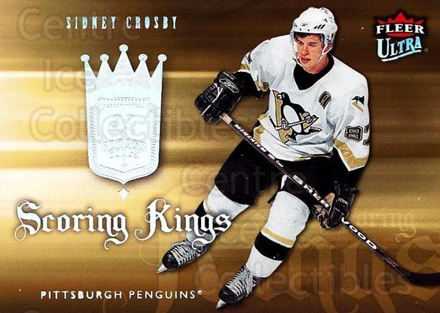 2006-07 Ultra Scoring Kings #28 Sidney Crosby<br/>1 In Stock - $5.00 each - <a href=https://centericecollectibles.foxycart.com/cart?name=2006-07%20Ultra%20Scoring%20Kings%20%2328%20Sidney%20Crosby...&quantity_max=1&price=$5.00&code=381649 class=foxycart> Buy it now! </a>