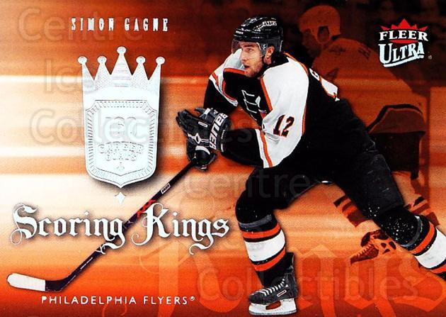 2006-07 Ultra Scoring Kings #29 Simon Gagne<br/>1 In Stock - $2.00 each - <a href=https://centericecollectibles.foxycart.com/cart?name=2006-07%20Ultra%20Scoring%20Kings%20%2329%20Simon%20Gagne...&quantity_max=1&price=$2.00&code=381650 class=foxycart> Buy it now! </a>
