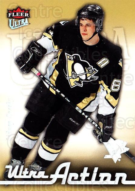 2006-07 Ultra Action #23 Sidney Crosby<br/>1 In Stock - $5.00 each - <a href=https://centericecollectibles.foxycart.com/cart?name=2006-07%20Ultra%20Action%20%2323%20Sidney%20Crosby...&quantity_max=1&price=$5.00&code=381674 class=foxycart> Buy it now! </a>