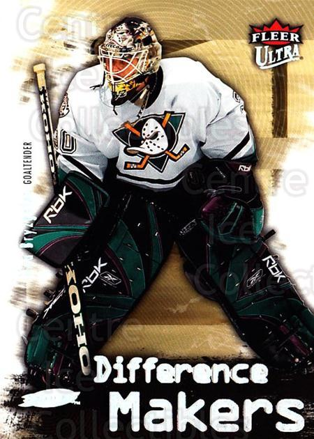 2006-07 Ultra Difference Makers #1 Ilya Bryzgalov<br/>3 In Stock - $2.00 each - <a href=https://centericecollectibles.foxycart.com/cart?name=2006-07%20Ultra%20Difference%20Makers%20%231%20Ilya%20Bryzgalov...&quantity_max=3&price=$2.00&code=381682 class=foxycart> Buy it now! </a>