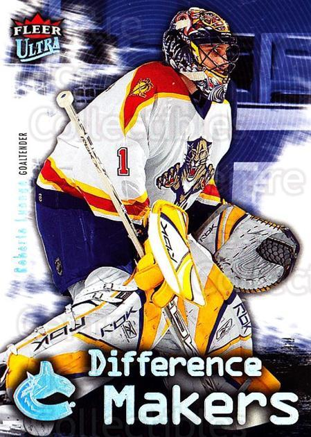 2006-07 Ultra Difference Makers #16 Roberto Luongo<br/>2 In Stock - $2.00 each - <a href=https://centericecollectibles.foxycart.com/cart?name=2006-07%20Ultra%20Difference%20Makers%20%2316%20Roberto%20Luongo...&quantity_max=2&price=$2.00&code=381697 class=foxycart> Buy it now! </a>