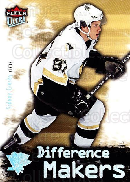 2006-07 Ultra Difference Makers #28 Sidney Crosby<br/>1 In Stock - $3.00 each - <a href=https://centericecollectibles.foxycart.com/cart?name=2006-07%20Ultra%20Difference%20Makers%20%2328%20Sidney%20Crosby...&price=$3.00&code=381709 class=foxycart> Buy it now! </a>