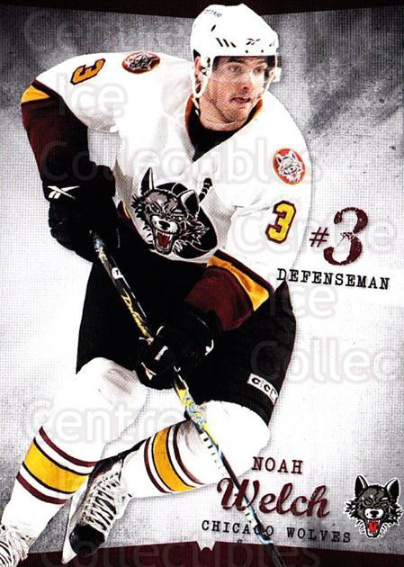 2009-10 Chicago Wolves #2 Noah Welch<br/>2 In Stock - $3.00 each - <a href=https://centericecollectibles.foxycart.com/cart?name=2009-10%20Chicago%20Wolves%20%232%20Noah%20Welch...&quantity_max=2&price=$3.00&code=381809 class=foxycart> Buy it now! </a>