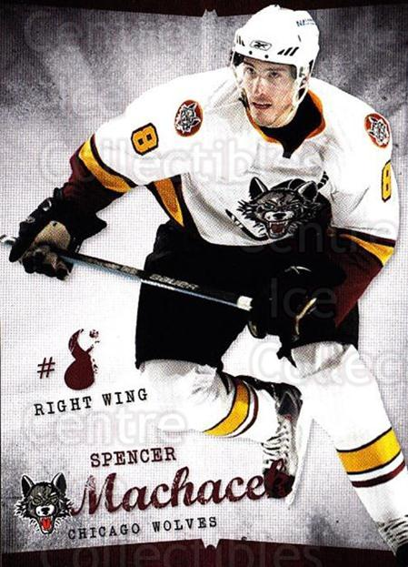2009-10 Chicago Wolves #7 Spencer Machacek<br/>1 In Stock - $3.00 each - <a href=https://centericecollectibles.foxycart.com/cart?name=2009-10%20Chicago%20Wolves%20%237%20Spencer%20Machace...&quantity_max=1&price=$3.00&code=381814 class=foxycart> Buy it now! </a>