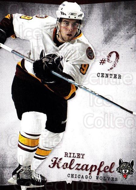 2009-10 Chicago Wolves #8 Riley Holzapfel<br/>1 In Stock - $3.00 each - <a href=https://centericecollectibles.foxycart.com/cart?name=2009-10%20Chicago%20Wolves%20%238%20Riley%20Holzapfel...&quantity_max=1&price=$3.00&code=381815 class=foxycart> Buy it now! </a>