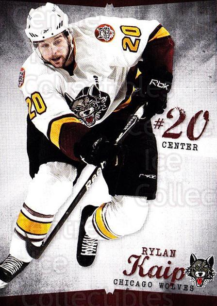 2009-10 Chicago Wolves #15 Rylan Kaip<br/>3 In Stock - $3.00 each - <a href=https://centericecollectibles.foxycart.com/cart?name=2009-10%20Chicago%20Wolves%20%2315%20Rylan%20Kaip...&quantity_max=3&price=$3.00&code=381822 class=foxycart> Buy it now! </a>