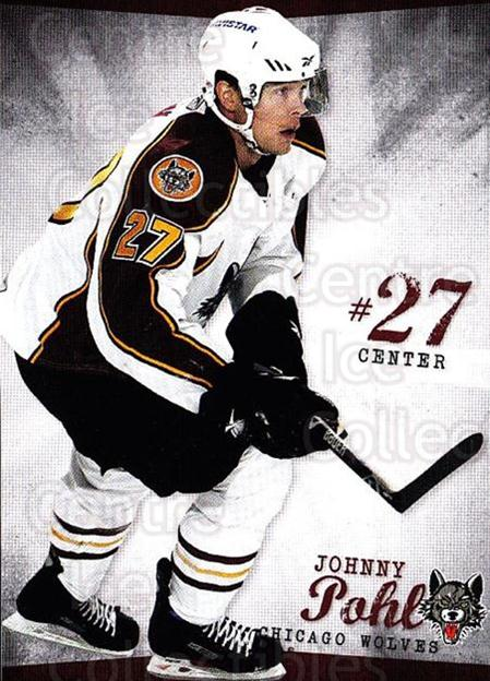 2009-10 Chicago Wolves #22 John Pohl<br/>4 In Stock - $3.00 each - <a href=https://centericecollectibles.foxycart.com/cart?name=2009-10%20Chicago%20Wolves%20%2322%20John%20Pohl...&quantity_max=4&price=$3.00&code=381829 class=foxycart> Buy it now! </a>