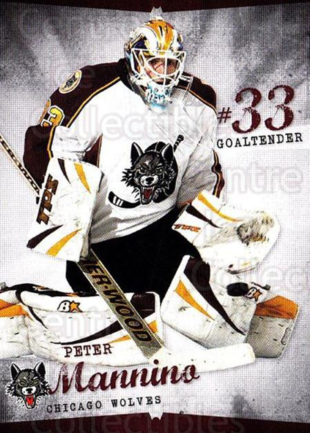 2009-10 Chicago Wolves #27 Peter Mannina<br/>4 In Stock - $3.00 each - <a href=https://centericecollectibles.foxycart.com/cart?name=2009-10%20Chicago%20Wolves%20%2327%20Peter%20Mannina...&quantity_max=4&price=$3.00&code=381834 class=foxycart> Buy it now! </a>