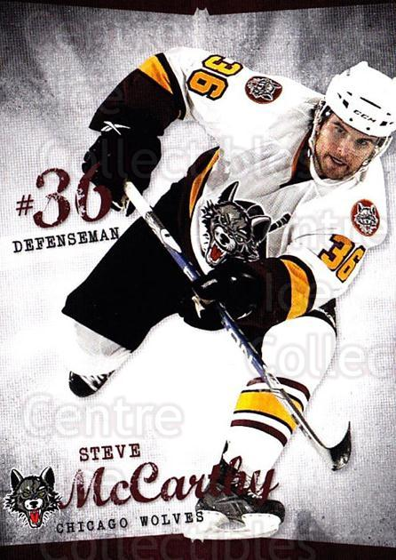 2009-10 Chicago Wolves #28 Steven McCarthy<br/>2 In Stock - $3.00 each - <a href=https://centericecollectibles.foxycart.com/cart?name=2009-10%20Chicago%20Wolves%20%2328%20Steven%20McCarthy...&quantity_max=2&price=$3.00&code=381835 class=foxycart> Buy it now! </a>