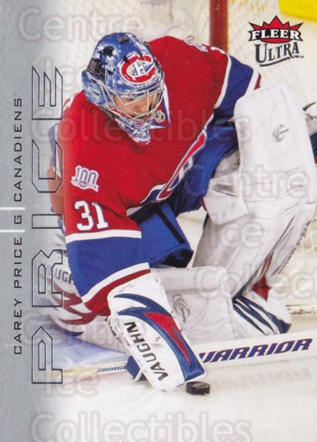 2009-10 Ultra #82 Carey Price<br/>1 In Stock - $3.00 each - <a href=https://centericecollectibles.foxycart.com/cart?name=2009-10%20Ultra%20%2382%20Carey%20Price...&quantity_max=1&price=$3.00&code=381954 class=foxycart> Buy it now! </a>