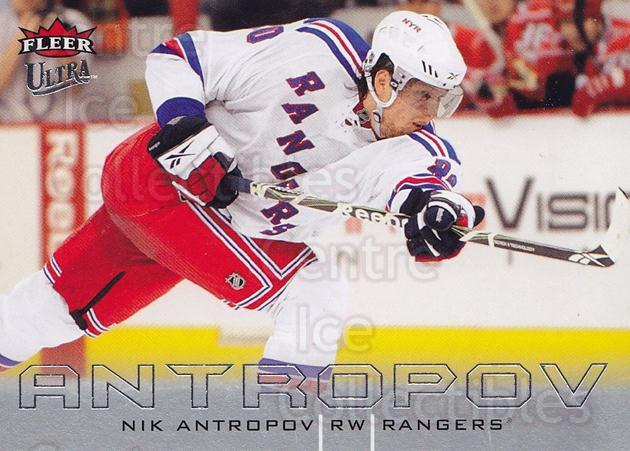 2009-10 Ultra #171 Nik Antropov<br/>1 In Stock - $1.00 each - <a href=https://centericecollectibles.foxycart.com/cart?name=2009-10%20Ultra%20%23171%20Nik%20Antropov...&quantity_max=1&price=$1.00&code=382043 class=foxycart> Buy it now! </a>