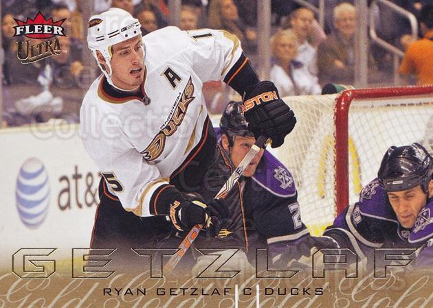 2009-10 Ultra Gold Medallion #1 Ryan Getzlaf<br/>2 In Stock - $2.00 each - <a href=https://centericecollectibles.foxycart.com/cart?name=2009-10%20Ultra%20Gold%20Medallion%20%231%20Ryan%20Getzlaf...&quantity_max=2&price=$2.00&code=382143 class=foxycart> Buy it now! </a>