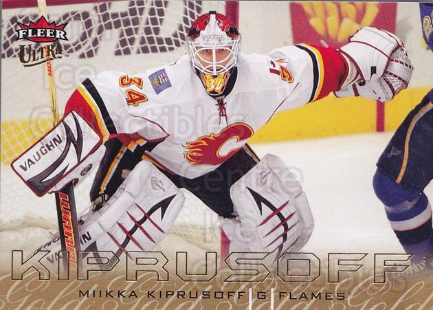 2009-10 Ultra Gold Medallion #25 Miikka Kiprusoff<br/>2 In Stock - $2.00 each - <a href=https://centericecollectibles.foxycart.com/cart?name=2009-10%20Ultra%20Gold%20Medallion%20%2325%20Miikka%20Kiprusof...&quantity_max=2&price=$2.00&code=382167 class=foxycart> Buy it now! </a>