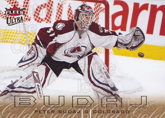 2009-10 Ultra Gold Medallion #38 Peter Budaj<br/>2 In Stock - $2.00 each - <a href=https://centericecollectibles.foxycart.com/cart?name=2009-10%20Ultra%20Gold%20Medallion%20%2338%20Peter%20Budaj...&quantity_max=2&price=$2.00&code=382180 class=foxycart> Buy it now! </a>