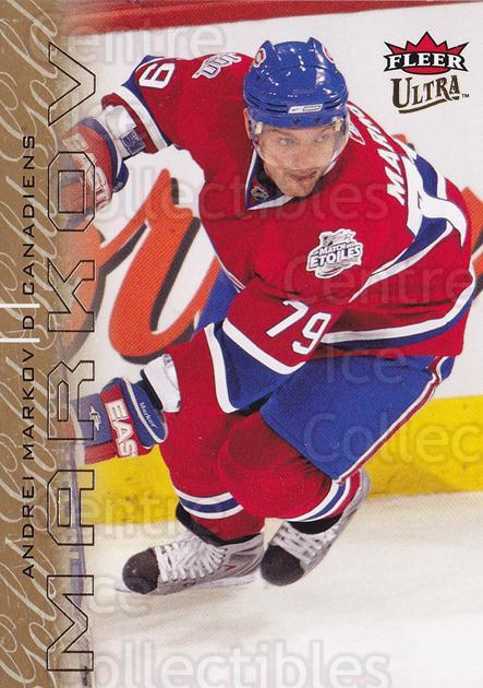 2009-10 Ultra Gold Medallion #78 Andrei Markov<br/>2 In Stock - $2.00 each - <a href=https://centericecollectibles.foxycart.com/cart?name=2009-10%20Ultra%20Gold%20Medallion%20%2378%20Andrei%20Markov...&quantity_max=2&price=$2.00&code=382220 class=foxycart> Buy it now! </a>
