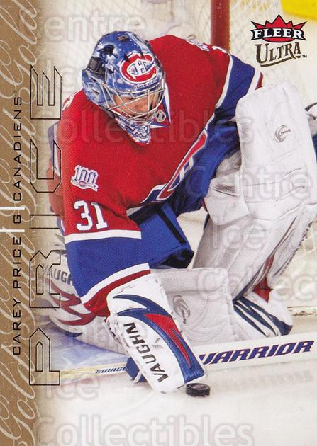 2009-10 Ultra Gold Medallion #82 Carey Price<br/>1 In Stock - $2.00 each - <a href=https://centericecollectibles.foxycart.com/cart?name=2009-10%20Ultra%20Gold%20Medallion%20%2382%20Carey%20Price...&price=$2.00&code=382224 class=foxycart> Buy it now! </a>