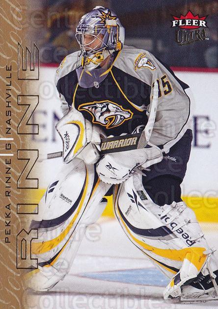 2009-10 Ultra Gold Medallion #86 Pekka Rinne<br/>1 In Stock - $2.00 each - <a href=https://centericecollectibles.foxycart.com/cart?name=2009-10%20Ultra%20Gold%20Medallion%20%2386%20Pekka%20Rinne...&quantity_max=1&price=$2.00&code=382228 class=foxycart> Buy it now! </a>