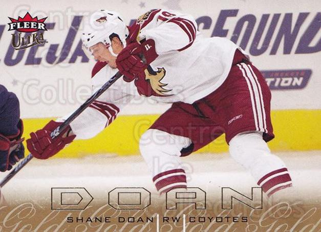 2009-10 Ultra Gold Medallion #111 Shane Doan<br/>2 In Stock - $2.00 each - <a href=https://centericecollectibles.foxycart.com/cart?name=2009-10%20Ultra%20Gold%20Medallion%20%23111%20Shane%20Doan...&quantity_max=2&price=$2.00&code=382253 class=foxycart> Buy it now! </a>