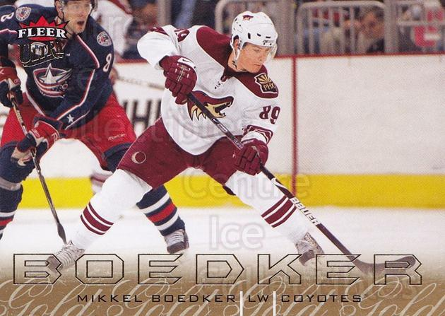 2009-10 Ultra Gold Medallion #114 Mikkel Boedker<br/>2 In Stock - $2.00 each - <a href=https://centericecollectibles.foxycart.com/cart?name=2009-10%20Ultra%20Gold%20Medallion%20%23114%20Mikkel%20Boedker...&quantity_max=2&price=$2.00&code=382256 class=foxycart> Buy it now! </a>