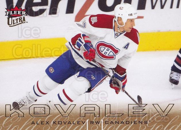 2009-10 Ultra Gold Medallion #179 Alexei Kovalev<br/>2 In Stock - $2.00 each - <a href=https://centericecollectibles.foxycart.com/cart?name=2009-10%20Ultra%20Gold%20Medallion%20%23179%20Alexei%20Kovalev...&quantity_max=2&price=$2.00&code=382321 class=foxycart> Buy it now! </a>