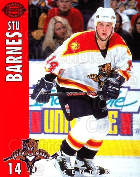 1994-95 Florida Panthers Boston Market #1 Stu Barnes<br/>6 In Stock - $3.00 each - <a href=https://centericecollectibles.foxycart.com/cart?name=1994-95%20Florida%20Panthers%20Boston%20Market%20%231%20Stu%20Barnes...&quantity_max=6&price=$3.00&code=382458 class=foxycart> Buy it now! </a>