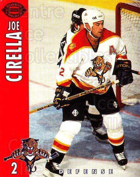 1994-95 Florida Panthers Boston Market #5 Joe Cirella<br/>5 In Stock - $3.00 each - <a href=https://centericecollectibles.foxycart.com/cart?name=1994-95%20Florida%20Panthers%20Boston%20Market%20%235%20Joe%20Cirella...&quantity_max=5&price=$3.00&code=382462 class=foxycart> Buy it now! </a>