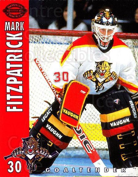 1994-95 Florida Panthers Boston Market #8 Mark Fitzpatrick<br/>1 In Stock - $3.00 each - <a href=https://centericecollectibles.foxycart.com/cart?name=1994-95%20Florida%20Panthers%20Boston%20Market%20%238%20Mark%20Fitzpatric...&quantity_max=1&price=$3.00&code=382465 class=foxycart> Buy it now! </a>