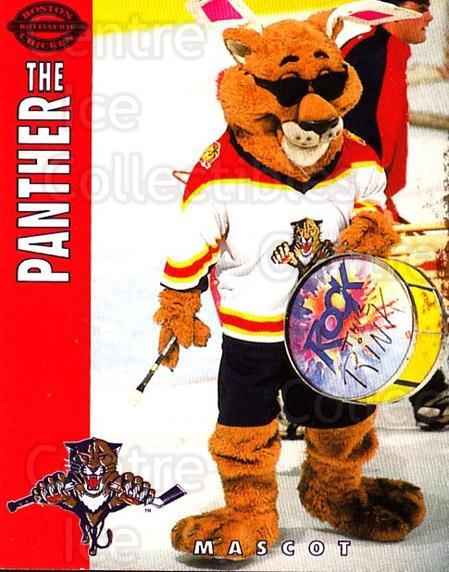 1994-95 Florida Panthers Boston Market #28 Mascot<br/>3 In Stock - $3.00 each - <a href=https://centericecollectibles.foxycart.com/cart?name=1994-95%20Florida%20Panthers%20Boston%20Market%20%2328%20Mascot...&quantity_max=3&price=$3.00&code=382485 class=foxycart> Buy it now! </a>