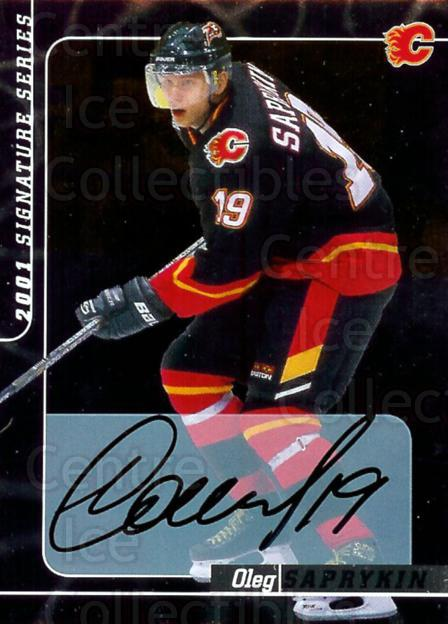 2000-01 BAP Signature Series Auto #232 Oleg Saprykin<br/>1 In Stock - $3.00 each - <a href=https://centericecollectibles.foxycart.com/cart?name=2000-01%20BAP%20Signature%20Series%20Auto%20%23232%20Oleg%20Saprykin...&quantity_max=1&price=$3.00&code=382741 class=foxycart> Buy it now! </a>