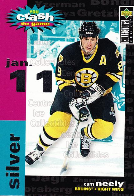 1995-96 Collectors Choice Crash The Game #14A Cam Neely<br/>4 In Stock - $1.00 each - <a href=https://centericecollectibles.foxycart.com/cart?name=1995-96%20Collectors%20Choice%20Crash%20The%20Game%20%2314A%20Cam%20Neely...&quantity_max=4&price=$1.00&code=38279 class=foxycart> Buy it now! </a>