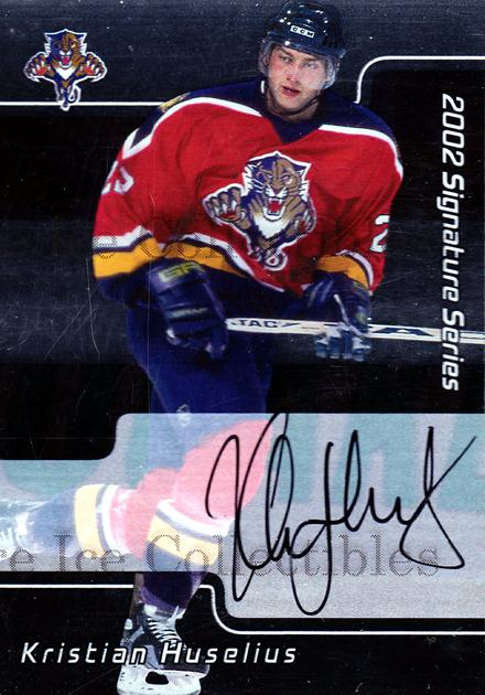 2001-02 BAP Signature Series Auto #212 Kristian Huselius<br/>1 In Stock - $3.00 each - <a href=https://centericecollectibles.foxycart.com/cart?name=2001-02%20BAP%20Signature%20Series%20Auto%20%23212%20Kristian%20Huseli...&quantity_max=1&price=$3.00&code=383221 class=foxycart> Buy it now! </a>