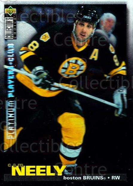 1995-96 Collectors Choice Players Club Platinum #102 Cam Neely<br/>1 In Stock - $3.00 each - <a href=https://centericecollectibles.foxycart.com/cart?name=1995-96%20Collectors%20Choice%20Players%20Club%20Platinum%20%23102%20Cam%20Neely...&quantity_max=1&price=$3.00&code=38333 class=foxycart> Buy it now! </a>