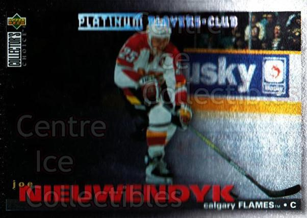 1995-96 Collectors Choice Players Club Platinum #133 Joe Nieuwendyk<br/>8 In Stock - $3.00 each - <a href=https://centericecollectibles.foxycart.com/cart?name=1995-96%20Collectors%20Choice%20Players%20Club%20Platinum%20%23133%20Joe%20Nieuwendyk...&quantity_max=8&price=$3.00&code=38363 class=foxycart> Buy it now! </a>