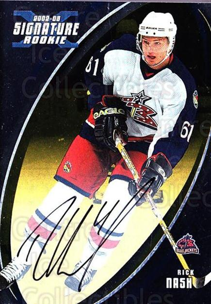 2002-03 BAP Signature Series Auto Gold #183 Rick Nash<br/>1 In Stock - $40.00 each - <a href=https://centericecollectibles.foxycart.com/cart?name=2002-03%20BAP%20Signature%20Series%20Auto%20Gold%20%23183%20Rick%20Nash...&quantity_max=1&price=$40.00&code=383957 class=foxycart> Buy it now! </a>