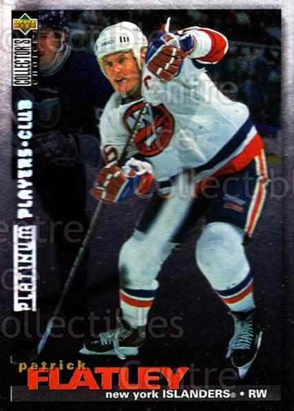 1995-96 Collectors Choice Players Club Platinum #202 Pat Flatley<br/>10 In Stock - $3.00 each - <a href=https://centericecollectibles.foxycart.com/cart?name=1995-96%20Collectors%20Choice%20Players%20Club%20Platinum%20%23202%20Pat%20Flatley...&quantity_max=10&price=$3.00&code=38426 class=foxycart> Buy it now! </a>