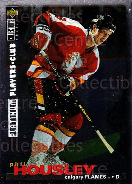 1995-96 Collectors Choice Players Club Platinum #212 Phil Housley<br/>4 In Stock - $3.00 each - <a href=https://centericecollectibles.foxycart.com/cart?name=1995-96%20Collectors%20Choice%20Players%20Club%20Platinum%20%23212%20Phil%20Housley...&quantity_max=4&price=$3.00&code=38434 class=foxycart> Buy it now! </a>